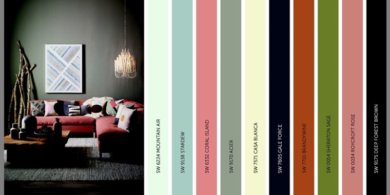 2017 Sherwin Williams Colormix Forecast